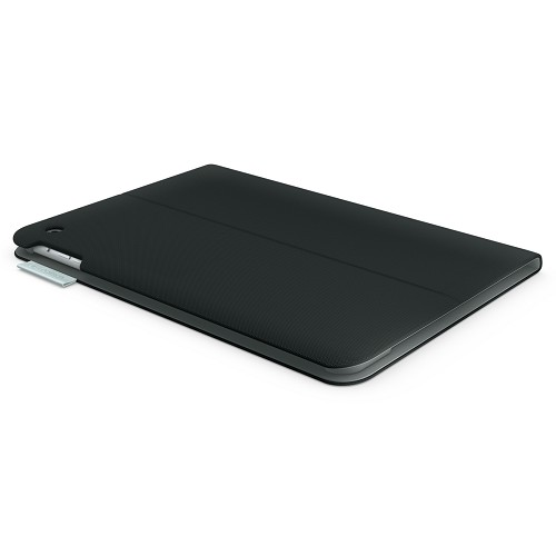 LOGITECH Folio Protective Case for Apple iPad Air [939-000642] - Carbon Black - Casing Tablet / Case